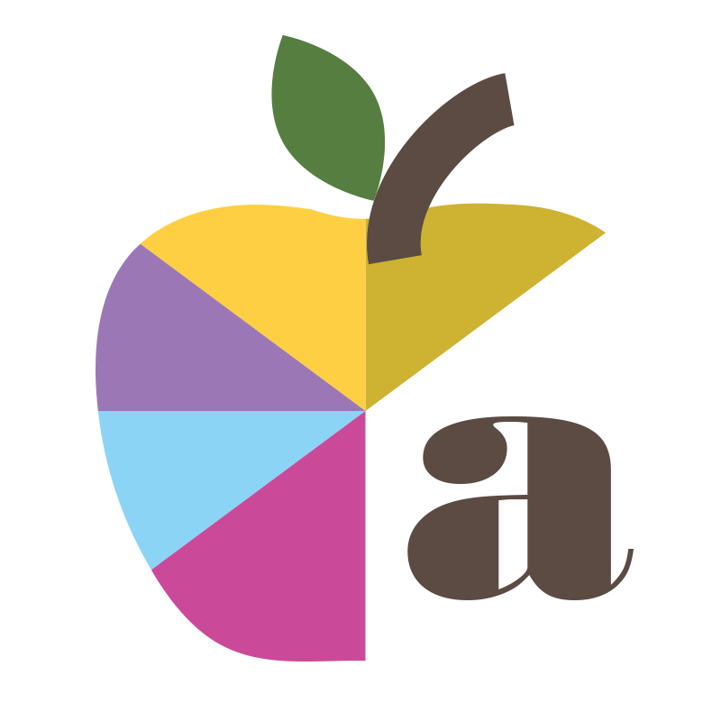artistic apple logo for Alisa Health