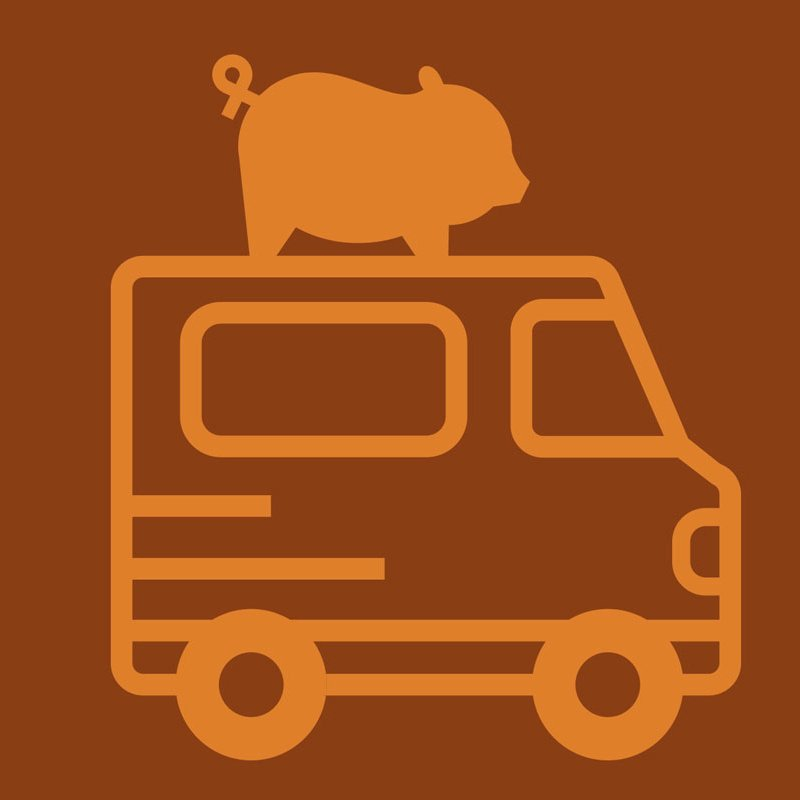 tradesman brewing logo for food truck